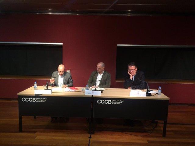 El conseller Raül Romeva en el ciclo sobre procesos constituyentes