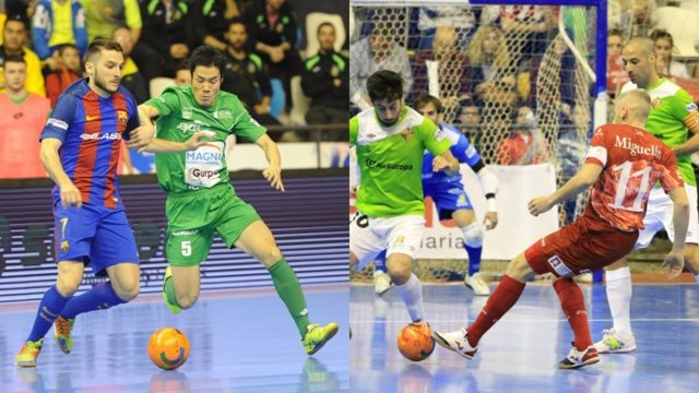 Magna Gurpea y ElPozo Murcia, a semifinales