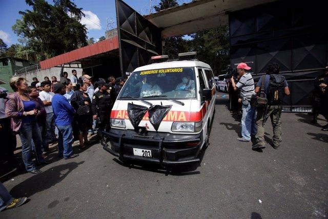 Incendio en centro de menores de Guatemala