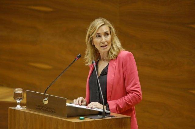 Ana Beltrán, portavoz del PPN en el Parlamento de Navarra