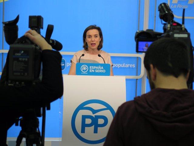 La alcaldesa Cuca Gamarra
