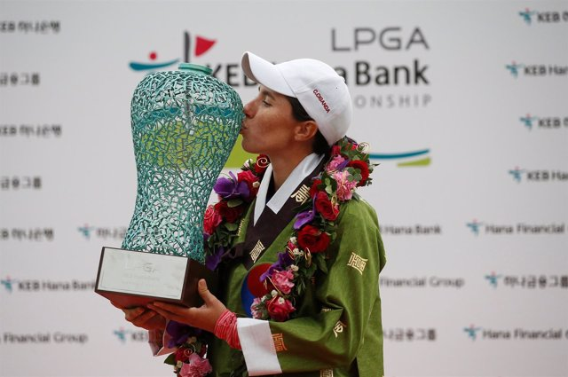 Carlota Ciganda Corea del Sur LPGA