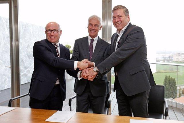 Acuerdo entre Volkswagen y Tata Motors