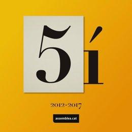 Celebración del quinto aniversario de la ANC