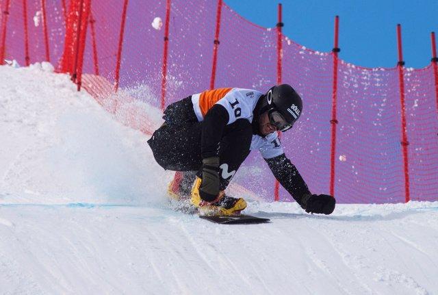 Lucas Eguibar, rider español de Snowboard