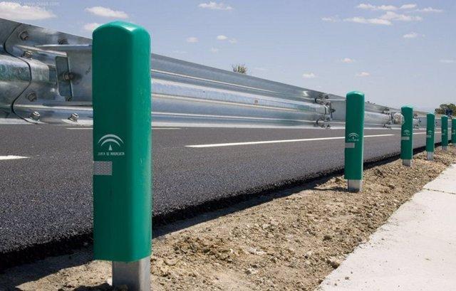 Sistema de protección para motoristas en carreteras andaluzas.