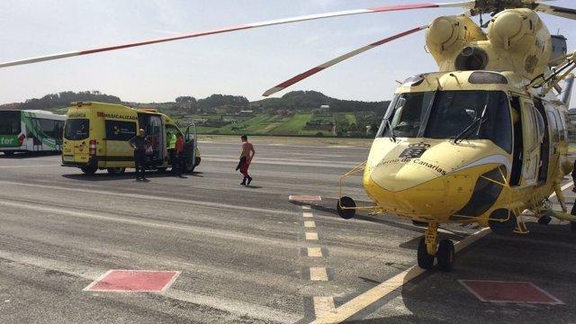 Un hombre fallece tras ser rescatado del mar en Tenerife