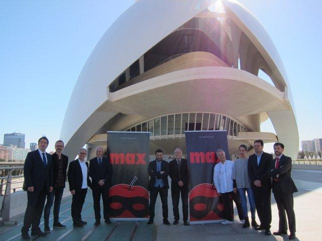 Presentación XX gala de los Premios Max en Les Arts