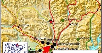 Nueva réplica del terremoto, que se ha sentido otra vez en la Comarca de...