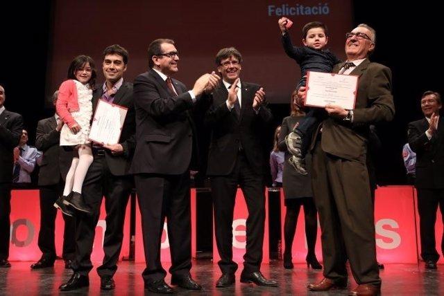 Carles Puigdemont y Jordi Jané
