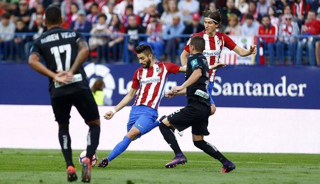 Carrasco. Atlético de Madrid contra el Granada