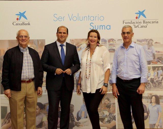 Homenaje a voluntarios de 'la Caixa'
