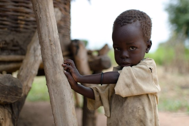 Niño en Sudán del Sur