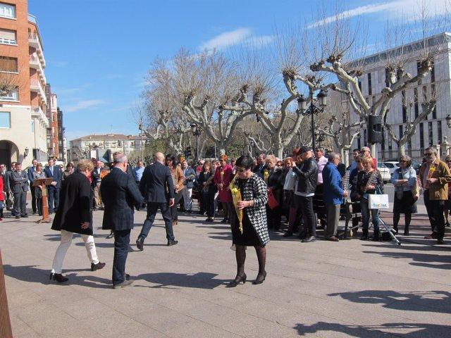 Homenaje De La AVT En Logroño