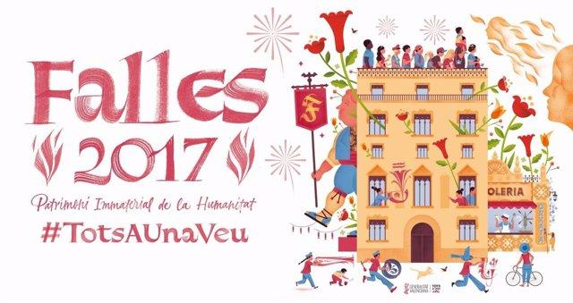 La Generalitat se suma a la celebración de las Fallas 2017