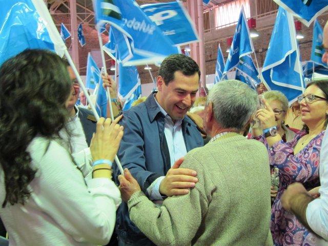 El presidente del PP andaluz, Juanma Moreno.