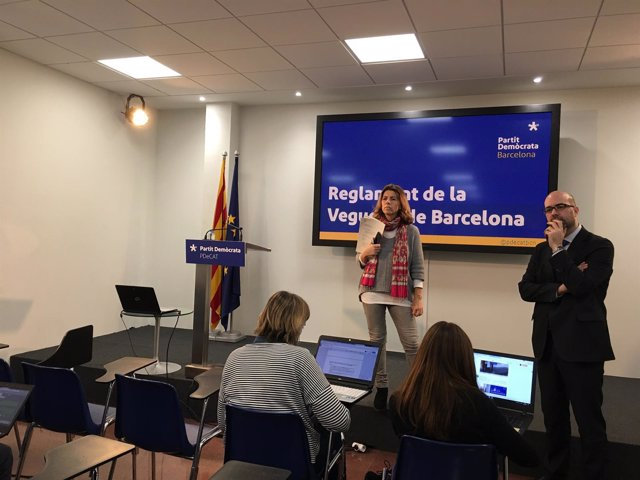 Mercè Homs y Genís Boadella, PDeCAT