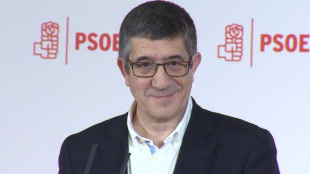 """Patxi López quiere """"reconstruir"""" el PSOE"""