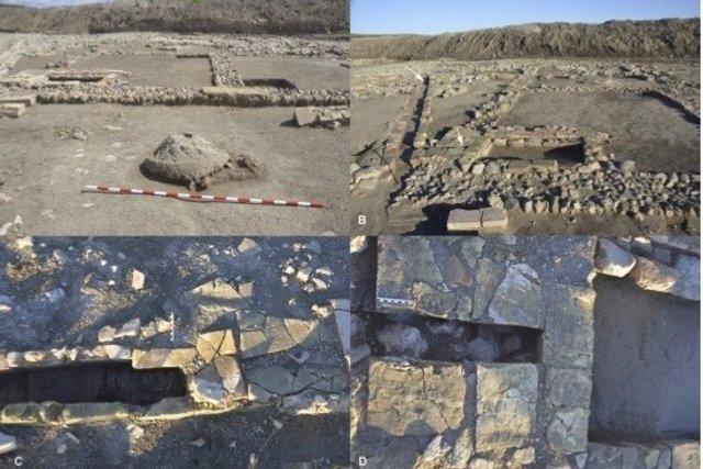 Ruinas del yacimiento de La Vereda.