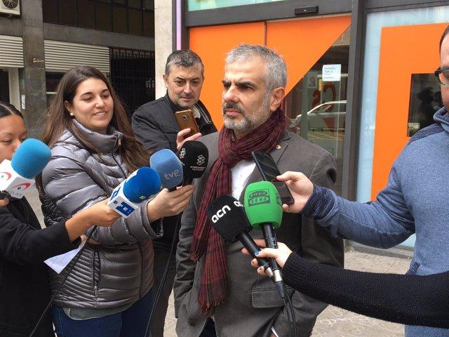 El portavoz de Cs Carlos Carrizosa