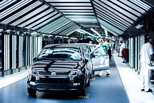 Planta de Volkswagen en Landaben (Navarra)