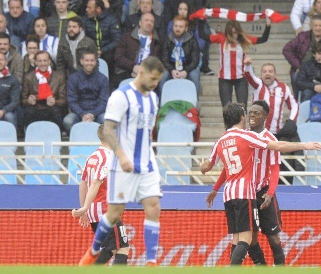 Iñaki Williams Lekue Athletic Real Sociedad