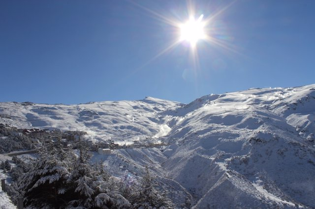 Sierra Nevada tras las últimas precipitaciones