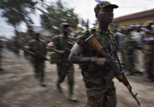 Militares ruandeses