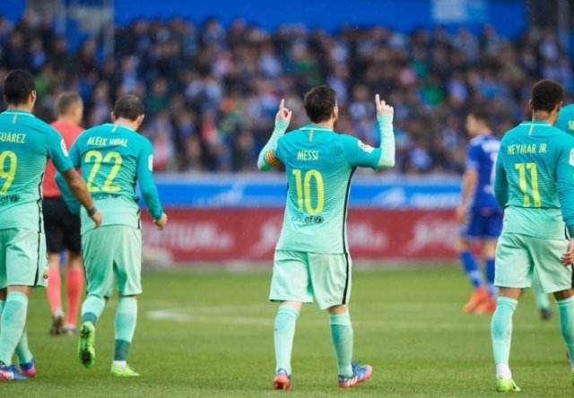 Messi Alavés Barcelona