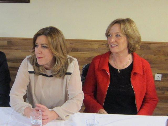 Susana Díaz y Carmen Ortiz