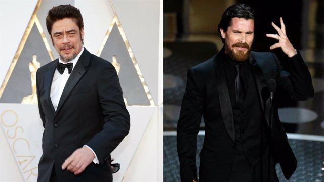 Benicio del Toro Y Christian Bale
