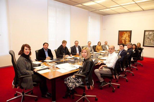 Mesa y Junta de Portavoces del Parlamento de Navarra