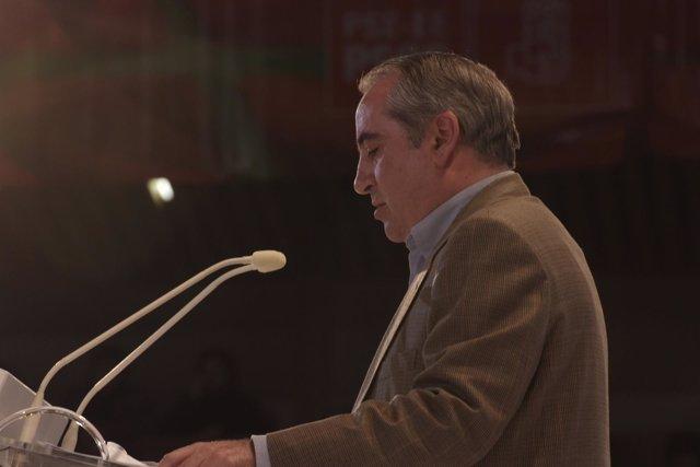 El Secretario general del PSE EE de Gipuzkoa, Iñaki Arriola