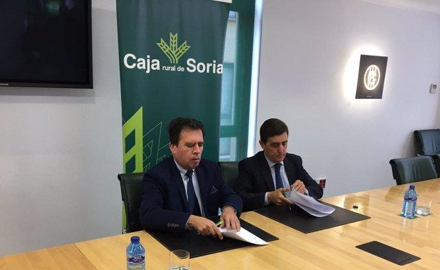 Convenio entre Caja Rural de Soria y Educación.
