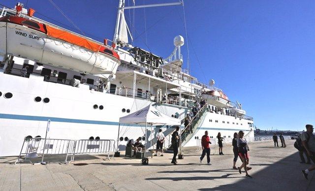 Crucero en el Puerto de Tarragona en 2016