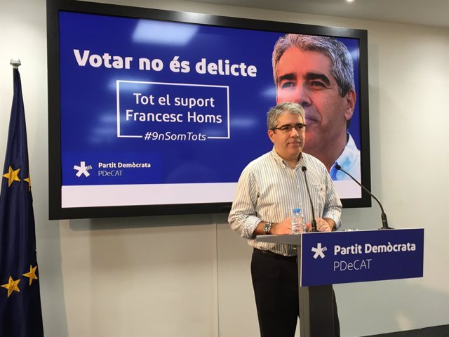 Francesc Homs, del PDeCAT