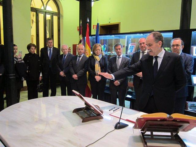 Juan Antonio Campillo Toma Posesión Como Presidente Del Consejo Socialnsejo