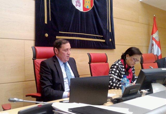 Sáez Aguado en la Comisión de Sanidad de las Cortes