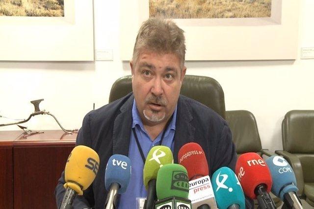 Secretario General de la Consejería de Políticas Agrarias, Javier Gaspar
