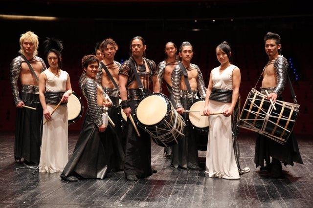Presentación de Tao, the samurai of the drum