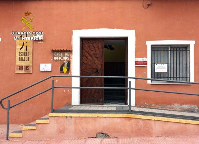 Guardia Civil detiene a tres personas por robos en municipales