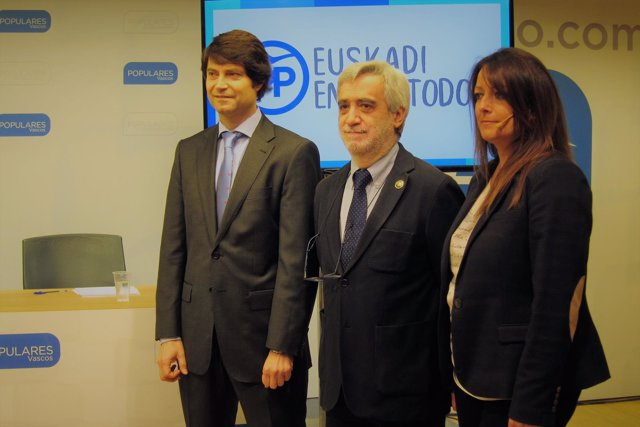 Javier Ruiz, Juan Carlos Cano, Ana Salazar (PP)