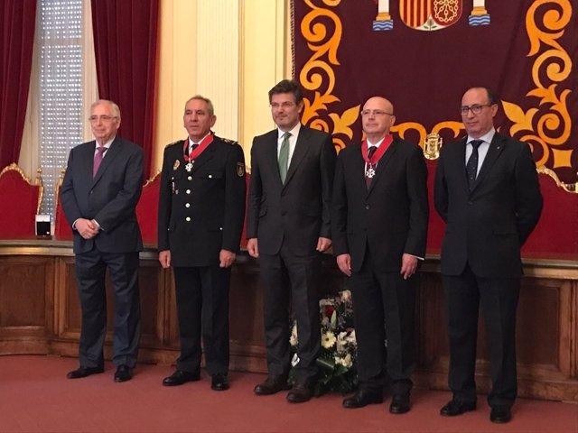 El ministro de Justicia, Rafael Catalá, en Melilla