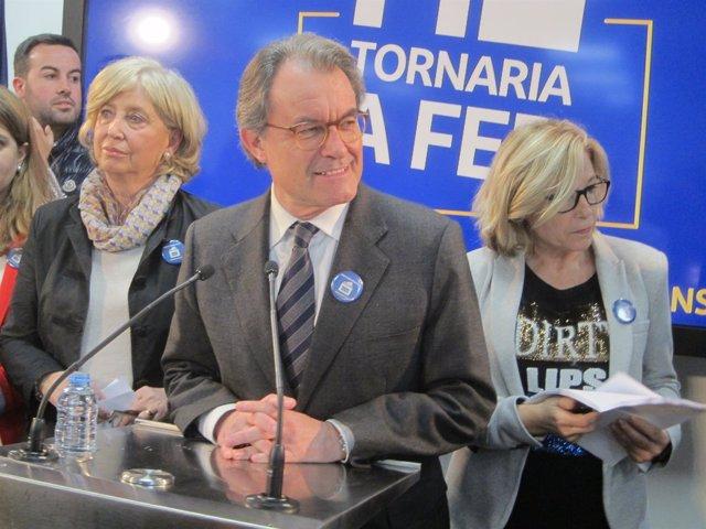 Irene Rigau, Artur Mas, Joana Ortega