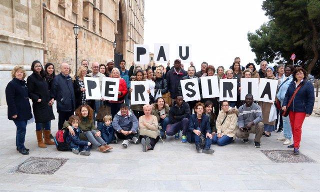 Cáritas Mallorca pide paz en Siria
