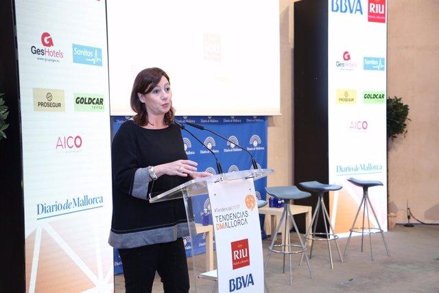 Armengol en el Foro de Tendencias Empresariales de Mallorca