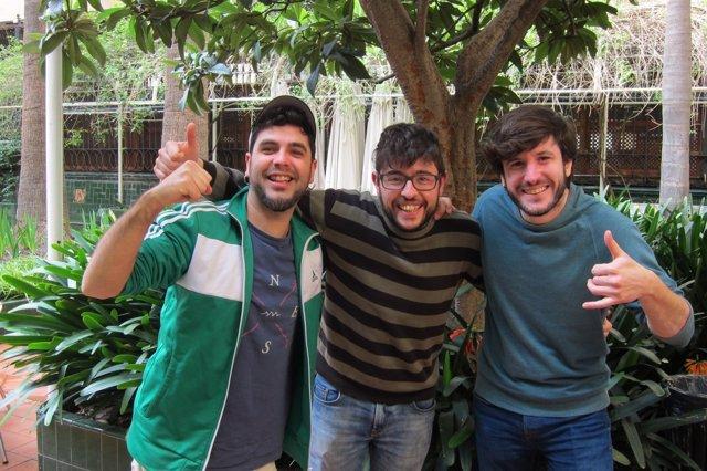 Part del grup Txarango a l'Ateneu Barcelonès