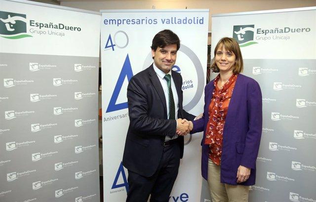 Angela de Miguel y Manuel Rubio.