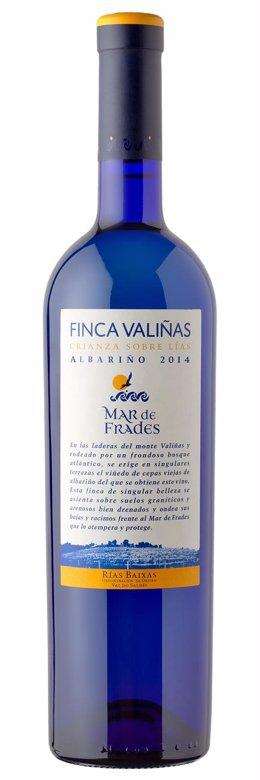El vino gallego Mar de Frades Finca Valiñas