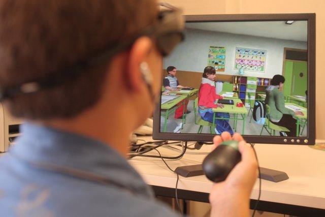 Pruebas de realidad virtual para TDAH